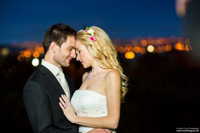 Nočné svadobné fotografie - nočné svadobné fotenie