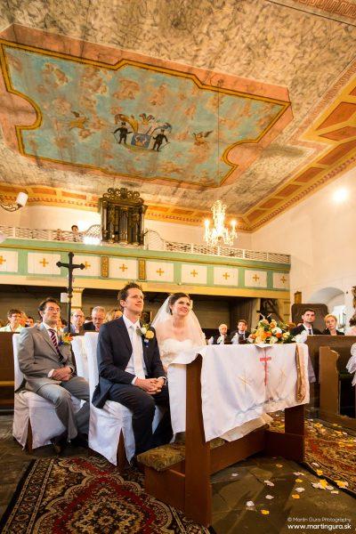 Svadba v kostole - fotografie s Vašej svadby