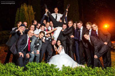 Svadobné foto - zábava na svadbe - Orava