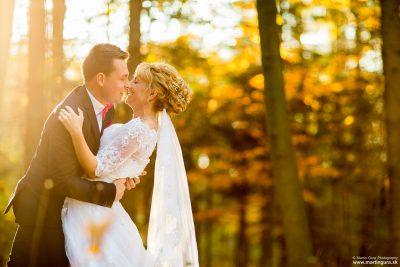 Svadobné fotenie na jeseň - Prešov