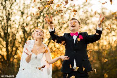 Svadobné fotenie na jeseň