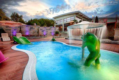 Vonkajšie bazény - exteriér - foto práce