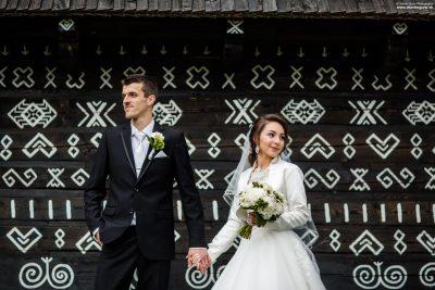 Svadobné foto - Čičmany