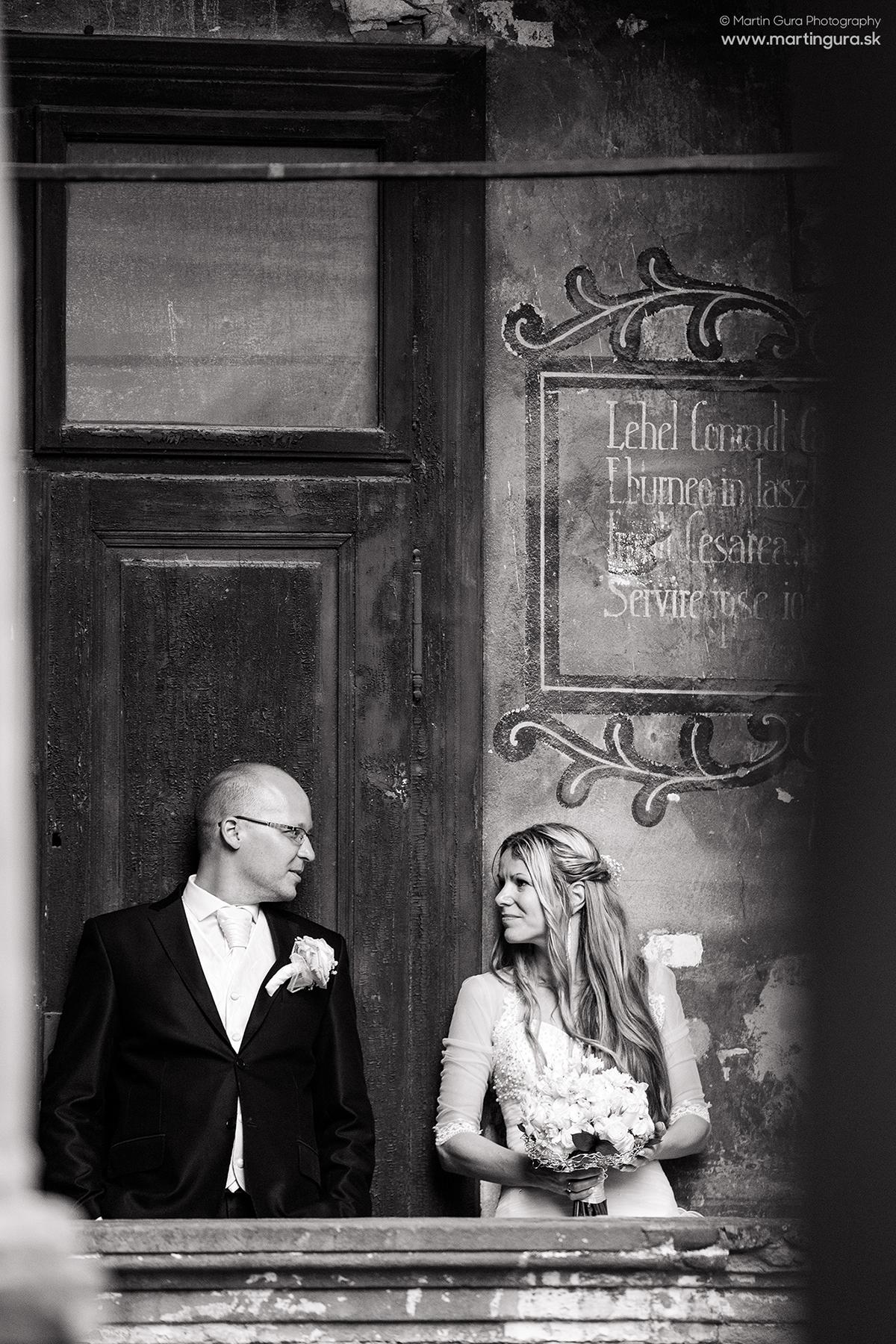 Svadobné fotografie Bytča
