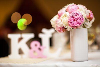 Nafotenie svadobnej výzdoby