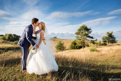 Fotenie v Tatrách - svadobná fotografia v Tatrách