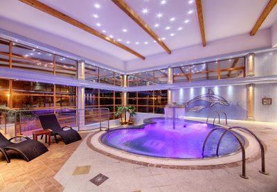 Bazény a spa - hotel - foto práce