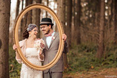 Zábavné svadobné foto