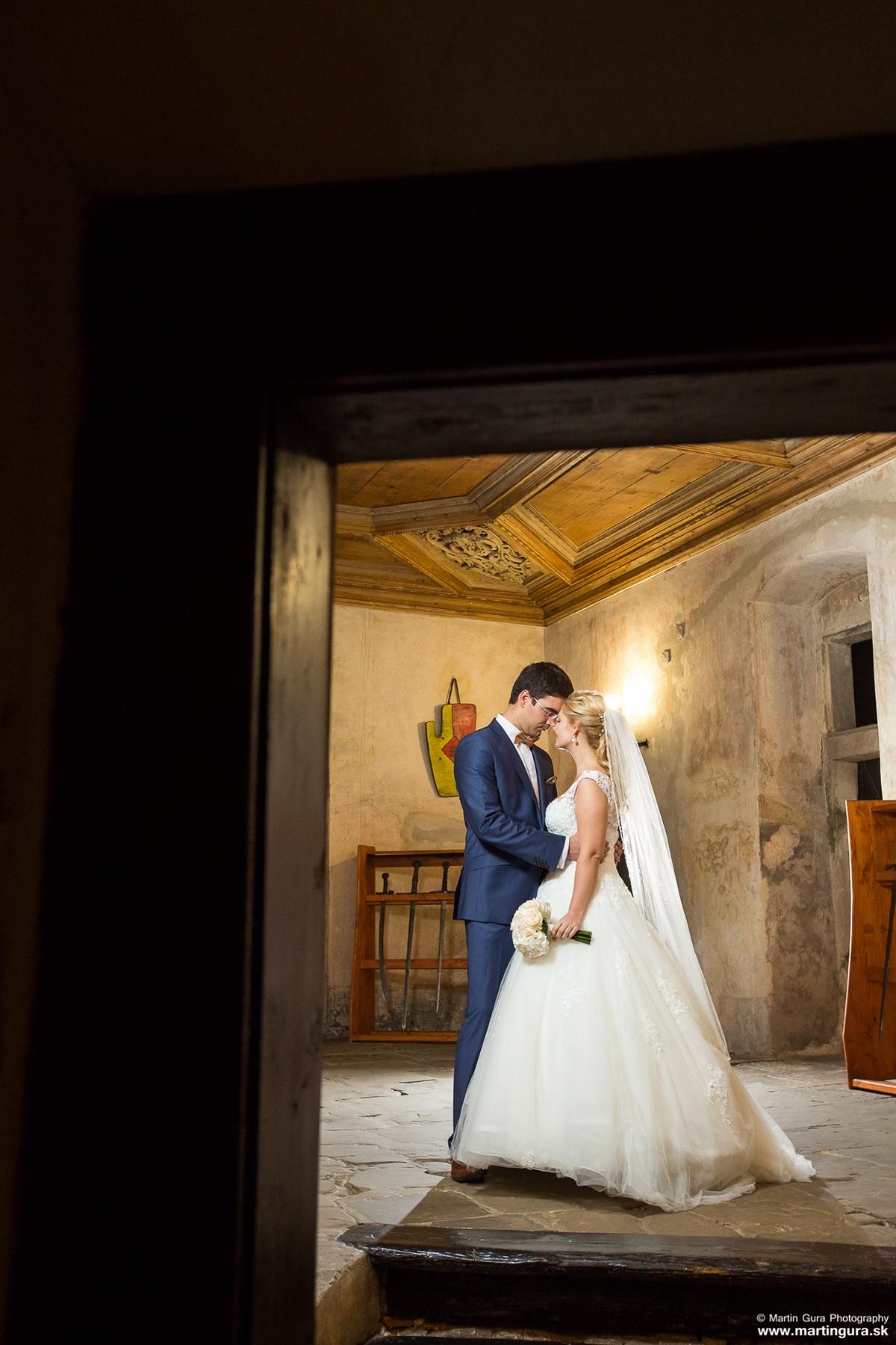 Svadobné fotografie Oravský hrad