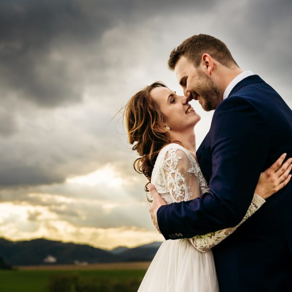 svadobné fotografie - romantika