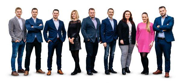 Business portréty - team - tým