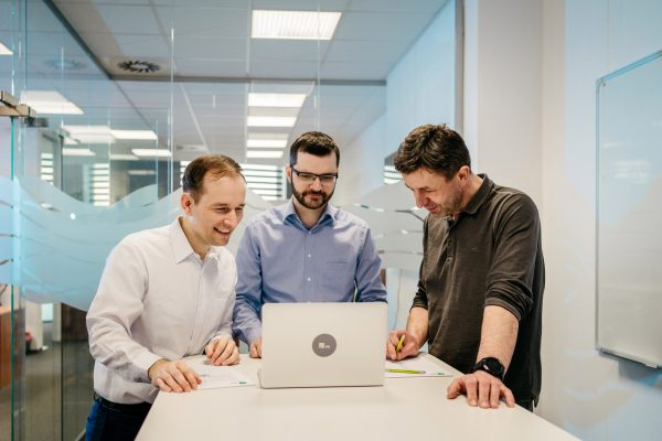 Business portrét - team - tým