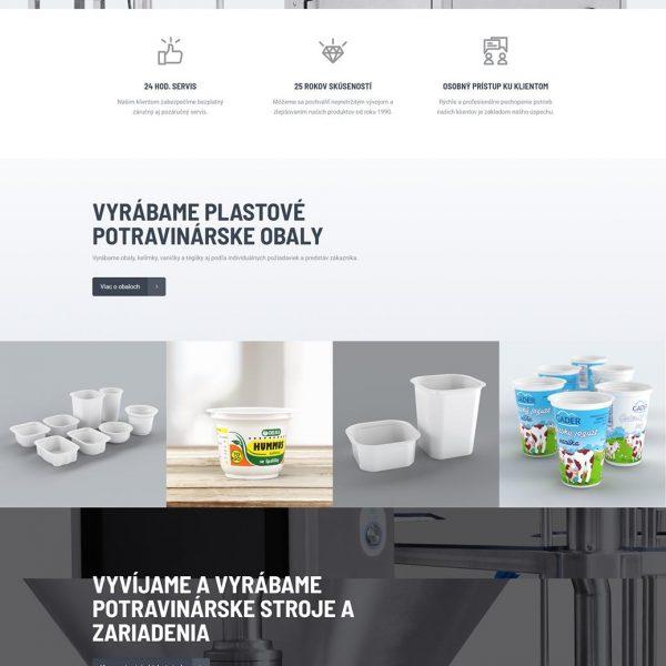 webdesing - výroba webstránky