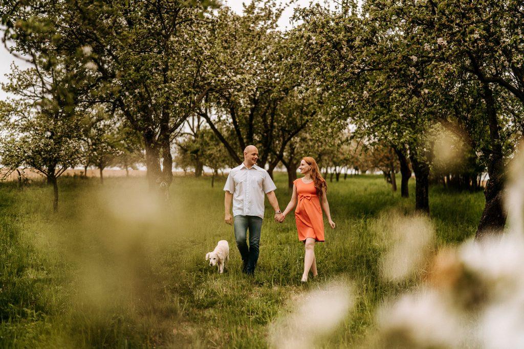 Rodinné a tehotenské foto - prechádzka