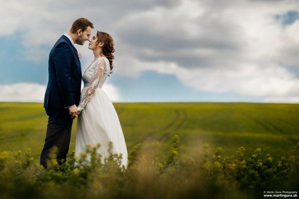 Svadobné fotografie L&M - v poly