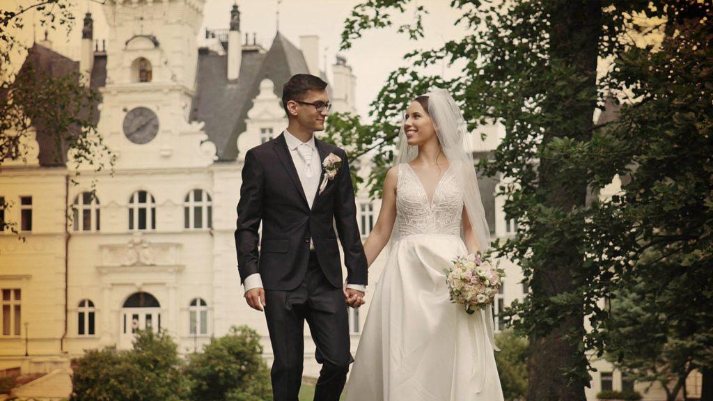 Svadobné video - svadobný kameraman